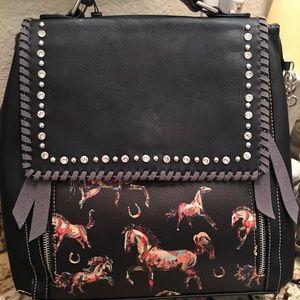 Montana West Horse Backpack NWT